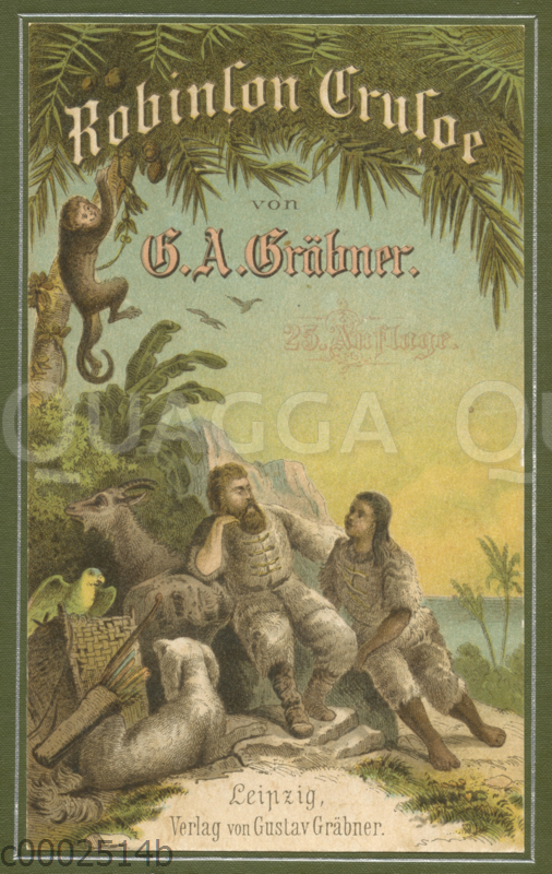 Robinson Crusoe: Buchcover