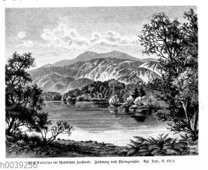 Loch Katrine im schottischen Hochland