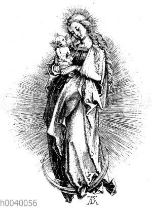 Maria auf dem Halbmonde