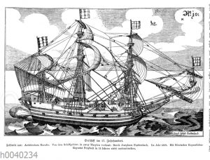 Seeschiff im 17. Jahrhundert