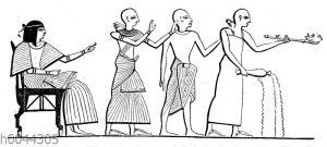 Trachten ägyptischer Priester