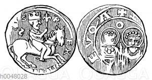 Silbermünze Heinrichs V. von Goslar