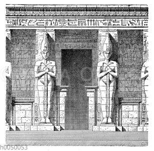Pfeiler vom Ramesseum