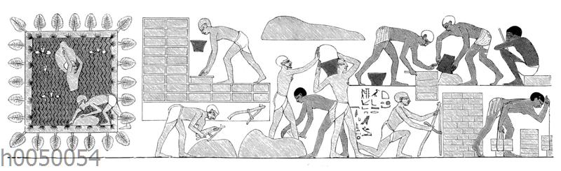 Bau des Amontempels