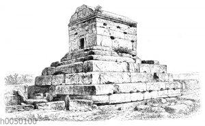 Sog. Grab des Kyros in Pasargadä