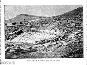 Theater des Bakchos in Athen
