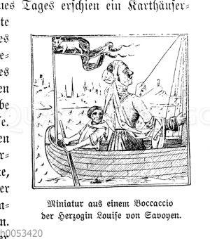 Boccaccio der Herzogin Louise von Savoyen