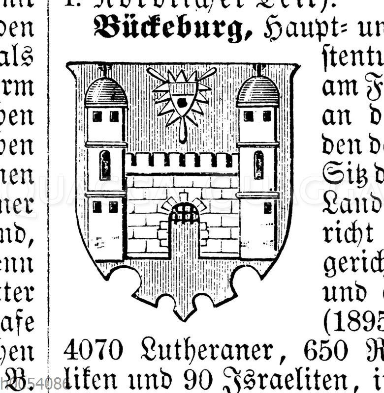 Bückeburg: Wappen