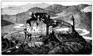 Rochsburg an der Zwickauer Mulde (15. Jahrh.)