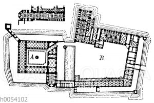 Schloss Marienburg: Grundriss