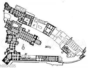 Schloss Meißen: Grundriss