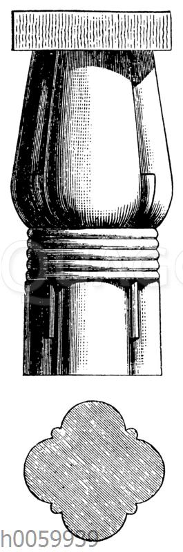 Säule von Beni-Hassan