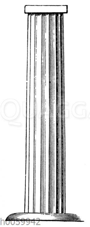 Sog. protodorische Säule von Beni-Hassan