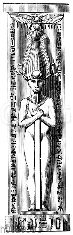 Osiris-Pfeiler von Medinet-Habu