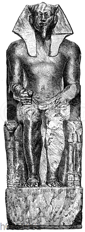 Portraitstatue des Königs Chephren
