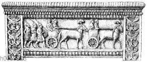 Marmor-Sarkophag von Amathus auf Zypern