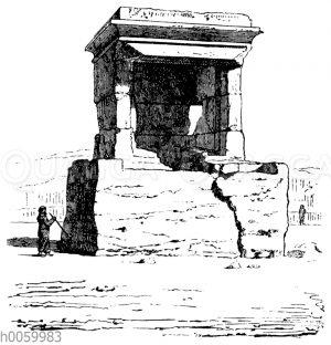 Tempel zu Amrith in Phönizien