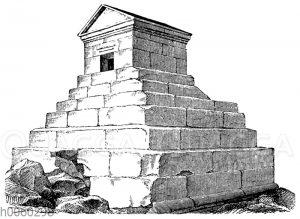 Sog. Grab des Cyrus bei Murgab