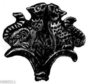 Nadelkopf aus Mykenae