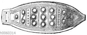 Bronzener Gürtelbeschlag aus Euboia (Helbig)