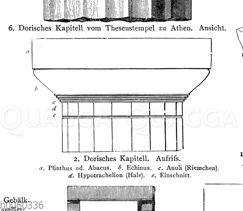 Dorisches Kapitell