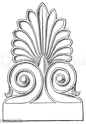 Stirnziegel vom Parthenon