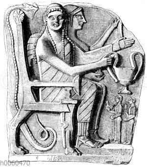 Relief von Sparta