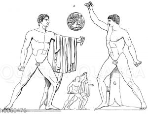 Harmodios und Aristogeiton. Neapel