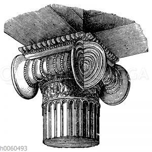 Attisch-ionisches Eckkapitell