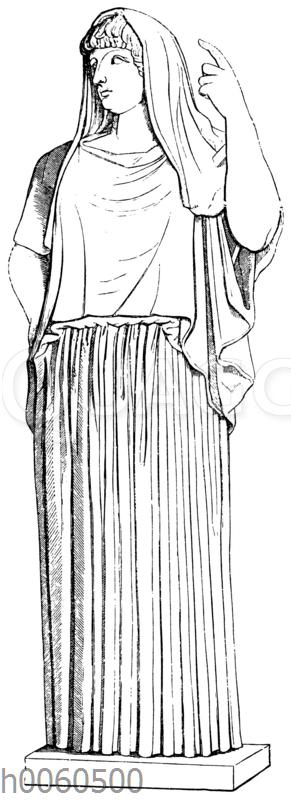 Hestia Giustiniani. Rom.Museo Torlonia