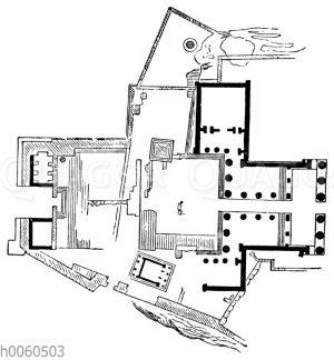 Propylaeen: Grundriss