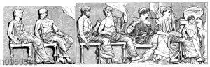 Parthenon: Rechte Göttergruppe vom Ostfries