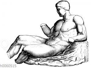 Dionysos (?) aus dem Ostgiebel des Parthenon.London