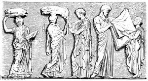 Mittelgruppe vom Ostfries des Parthenon