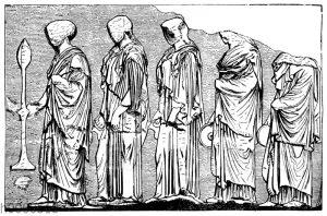 Parthenon: Detail vom Ostfries