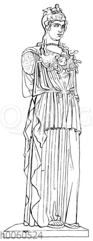 Minerva au collier. Paris