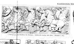 Reitergruppe vom Nordfries des Parthenon
