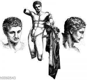 Hermes des Praxiteles. Olympia