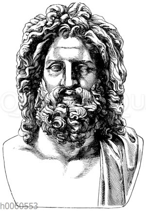 Zeus von Otricoli. Rom
