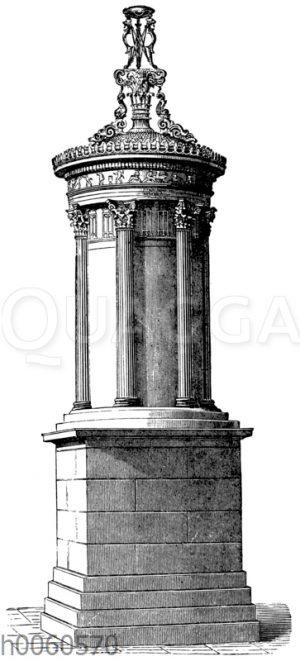 Lysikratesdenkmal zu Athen