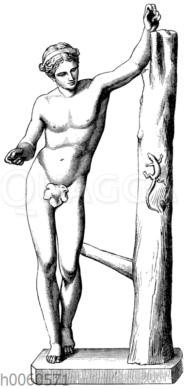 Apollon Sauroktonos nach Praxiteles