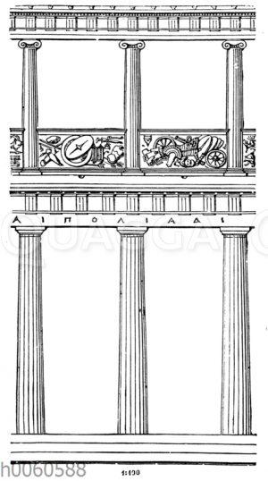 Doppelhalle aus Pergamon