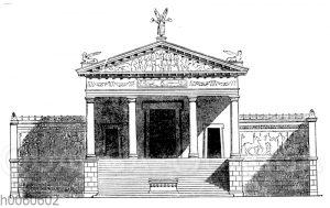 Etruskischer Tempel