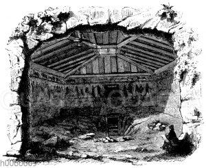Grabkammer bei Corneto