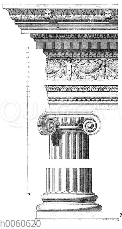 Tempel der Fortuna virilis in Rom