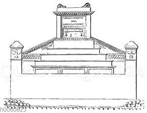 Grabmal des Calventius Quietus. Pompeji