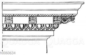 Von der Vorhalle des Pantheon in Rom