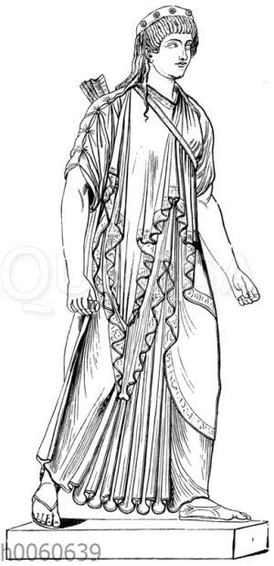 Archaistische Artemis aus Pompeji