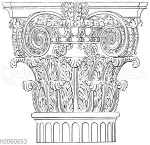Kapitell vom Titusbogen in Rom