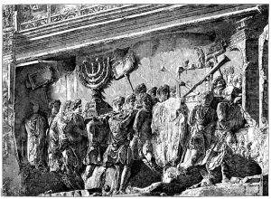 Relief vom Titusbogen in Rom